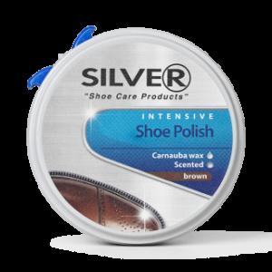 silver skopudsecreme brun