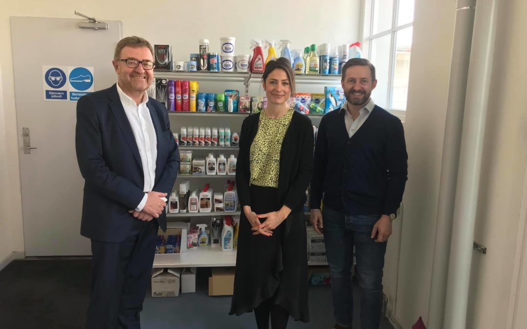Visit from EU candidate