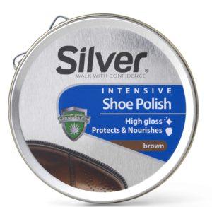 Silver sko pudsecreme brun