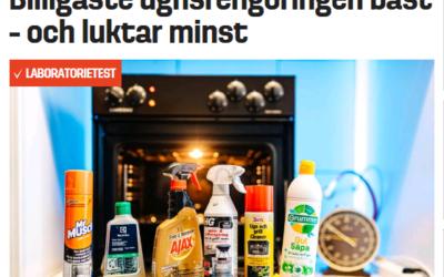 OVN- OG GRILL RENS KÅRET TIL BEDST I TEST AF SVENSK MEDIE