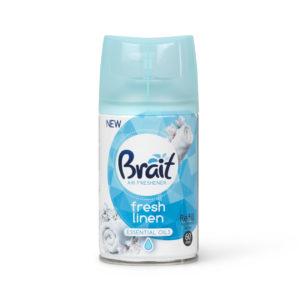 Brait luftfrisker spray med frisk duft af rene lagener